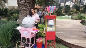 cotton candy machine Eventos Party Rentals