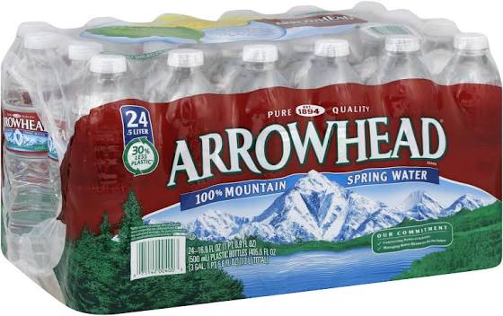 Arrowhead Mountain Spring Water - 24 pack, 16.9 fl oz bottles